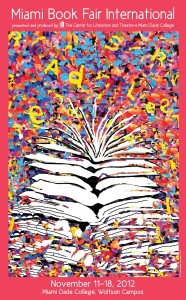Poster for this year's Miami Book Fair International.