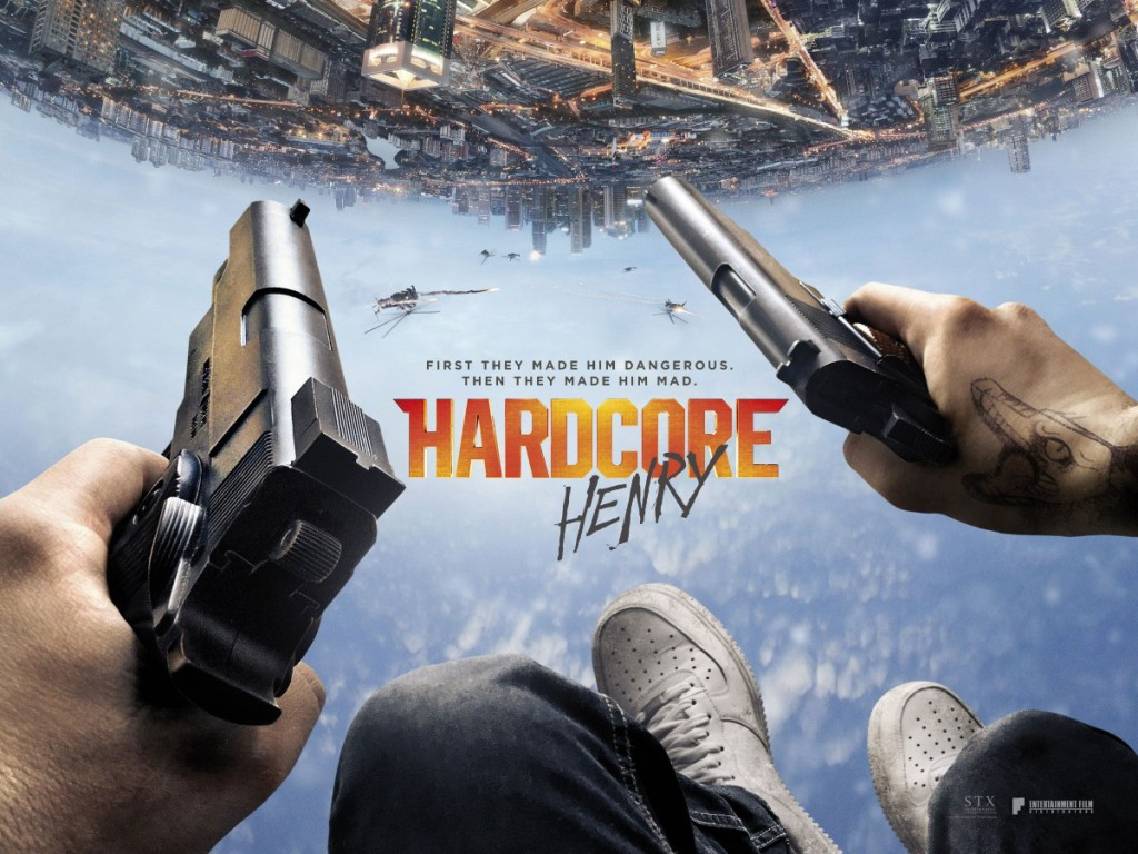 Promotional poster for the movie Hardcore Henry.