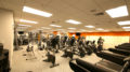 Inside the gym at Wolfson Campus.