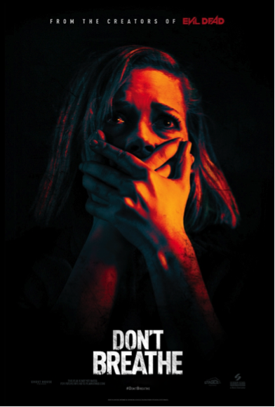 Movie poster for Don't Breathe.