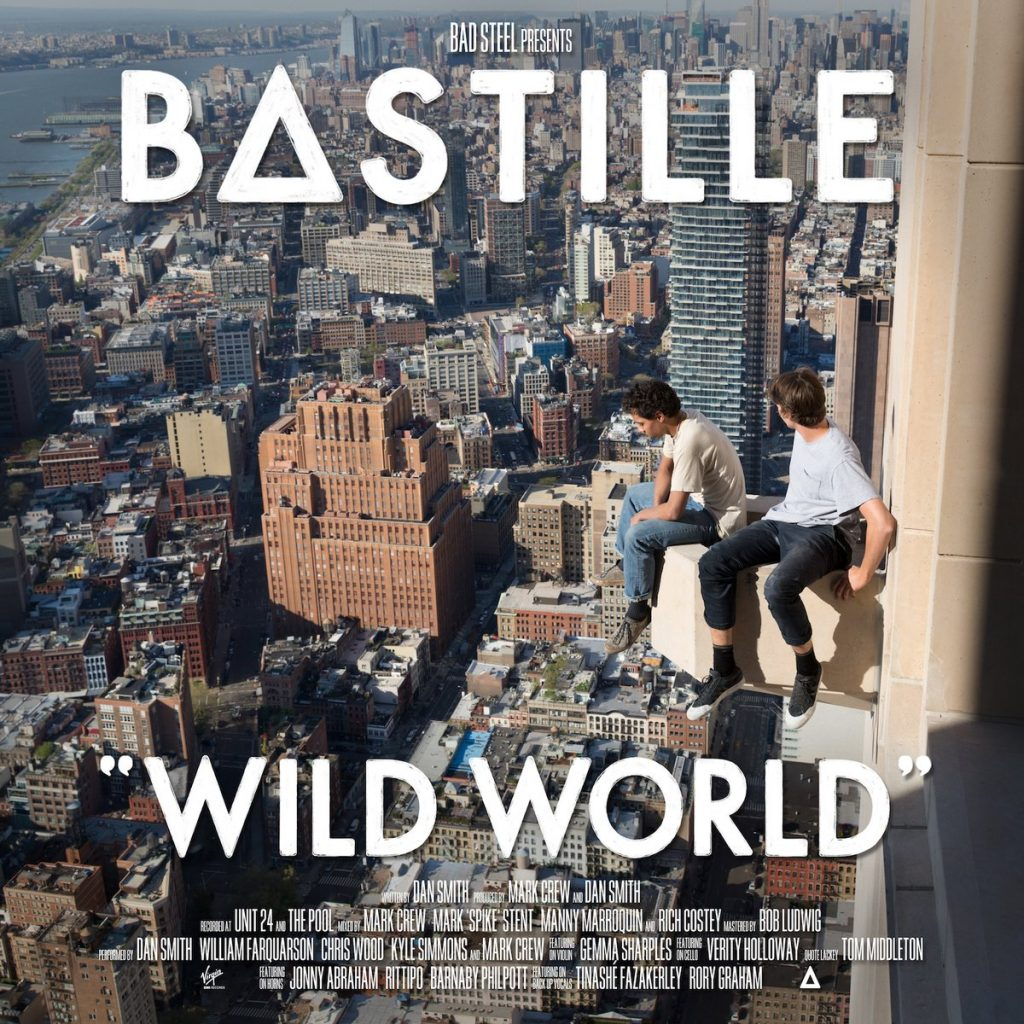 Album cover for Bastille's Wild World album.