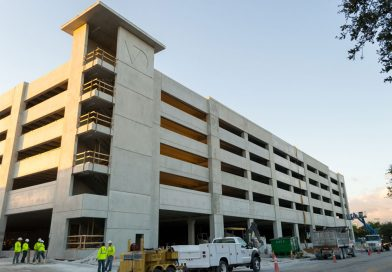 West Campus To Open New Parking Garage In January