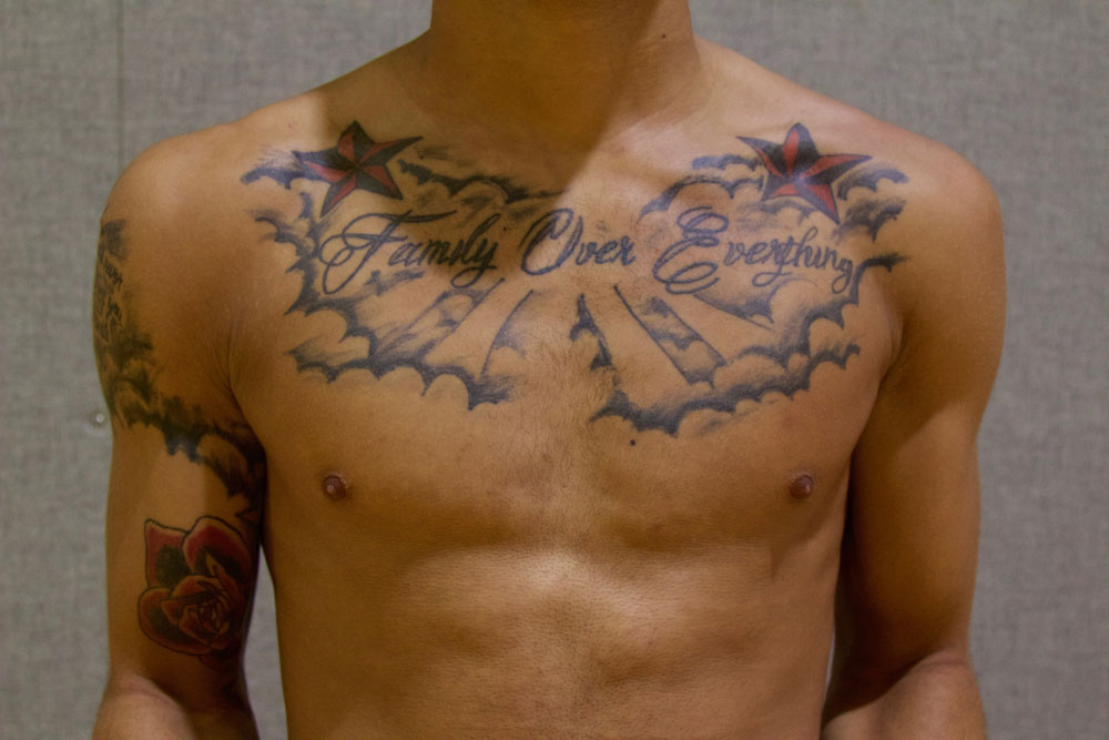 Basketball Chest Tattoos: The Reporter: The Student