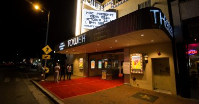 Entrance to the Tower Theatre.