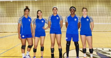 Five Lady Shark Volleyball Players Land Scholarships