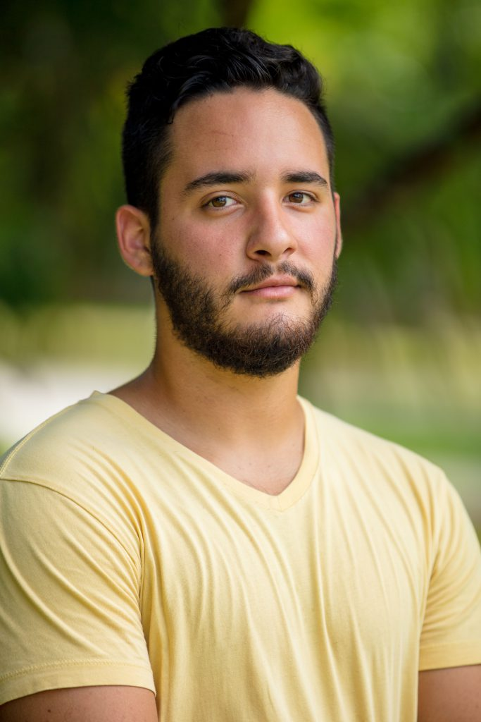 Headshot of Christian Ortega.
