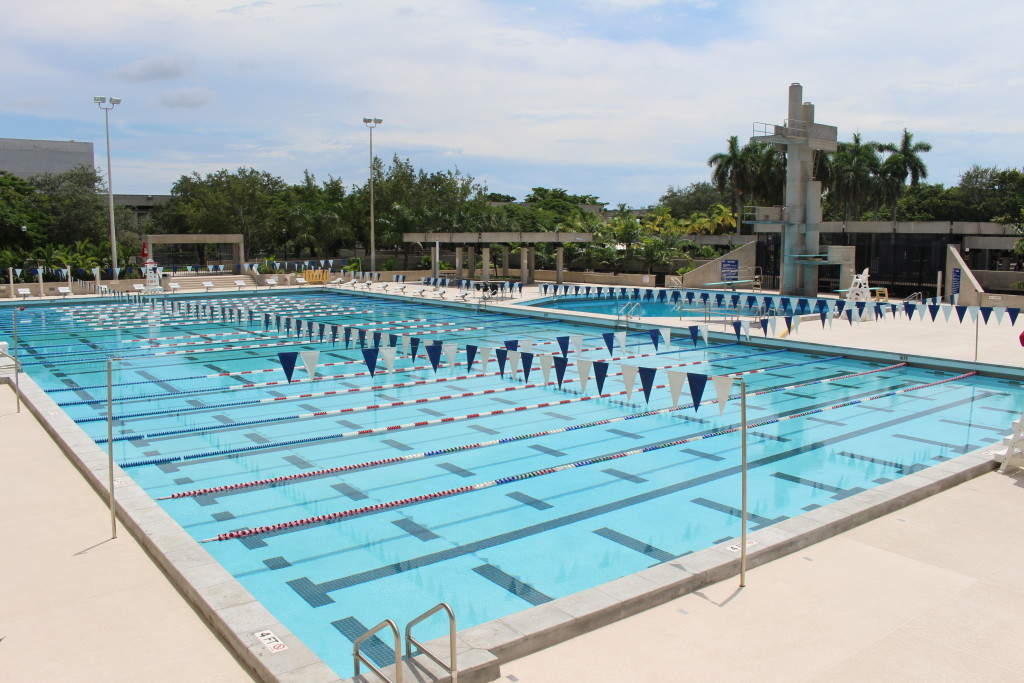 Renovations Complete At Kendall Campus Swimming Pool The Reporter The Student Newspaper At