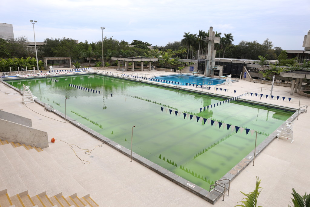 Kendall Campus Pool Closed Due To Storm Damage The Reporter The Student Newspaper At Miami