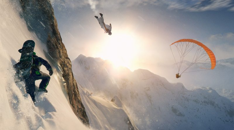 Image from the game Steep.