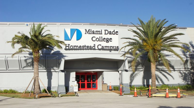 Entrance to Homestead Campus.
