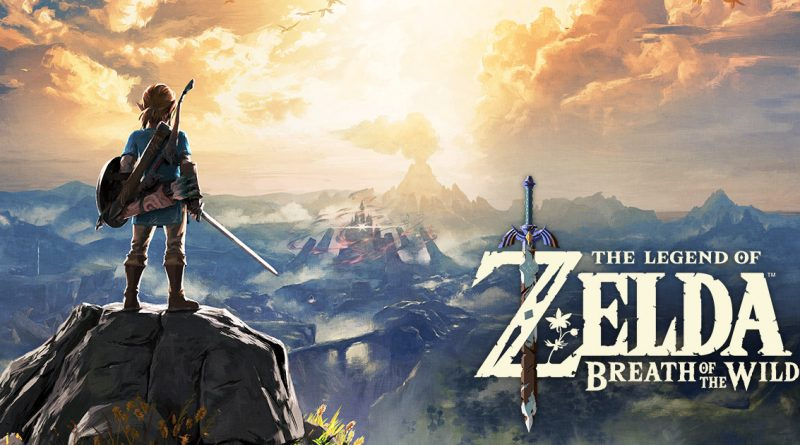 Promotional image for The Legend of Zelda: Breath Of The Wild.