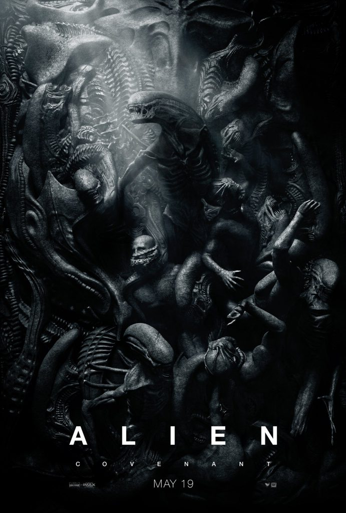 Movie poster for Alien Covenant.