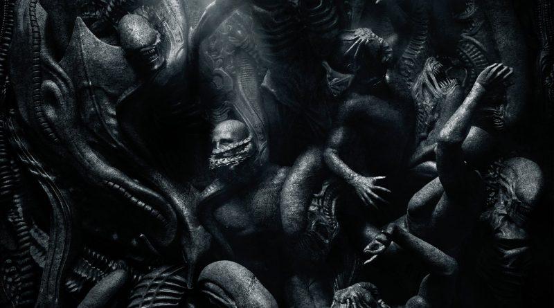 Movie poster for Alien Covenant.