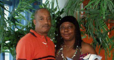 Charlotte Fulton with her husband Glen.