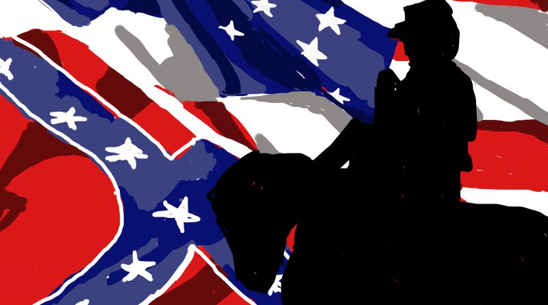 Confederate Flag Illustration for Forum article.