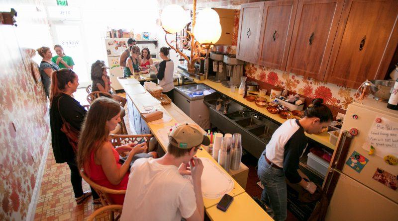 Inside Vicky's House.