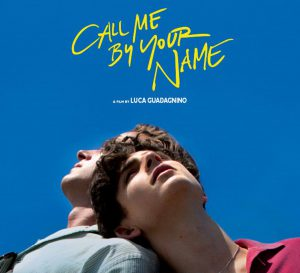 Promotional image for the movie Call Me By Your Name.