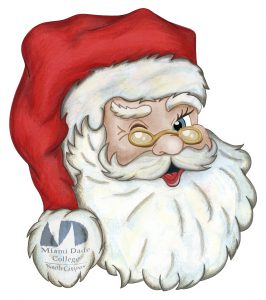 Illustration of Santa Clause.