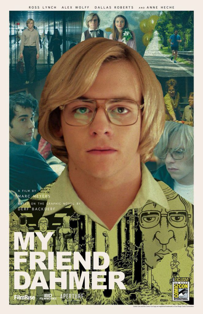 Poster for the movie My Friend Dahmer.
