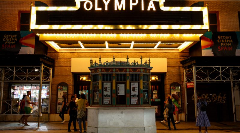 Entrance to Olympia Theater.