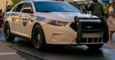 Miami Dade police cruiser.