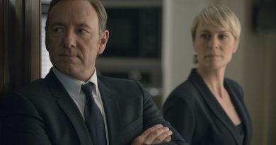 Scene from House of Cards.
