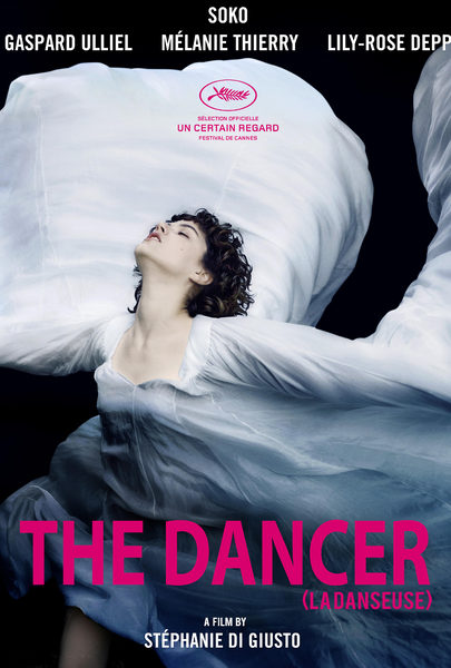 Promotional poster for The Dancer.