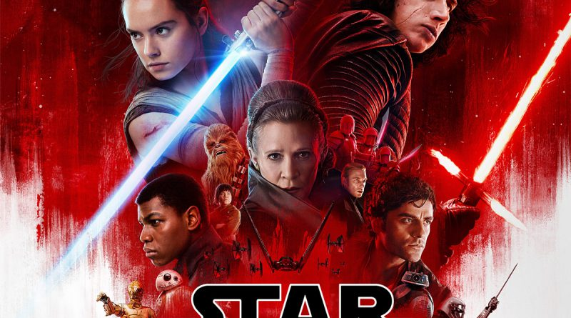 Movie poster for Star Wars: The Last Jedi.