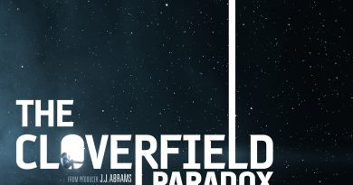Poster for The Cloverfield Paradox.