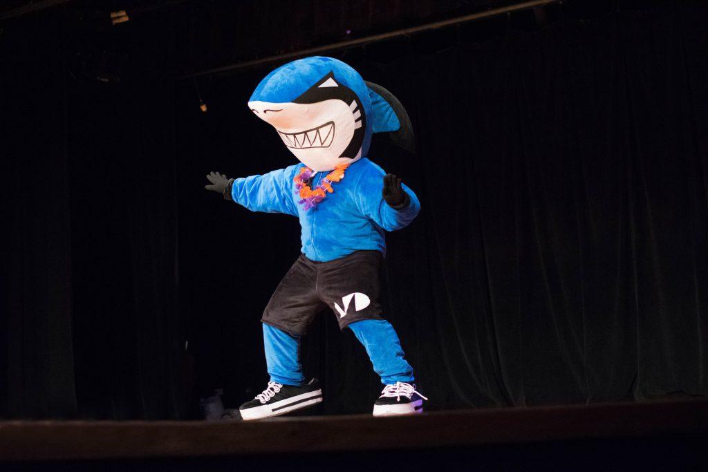 Finn, MDC's mascot.