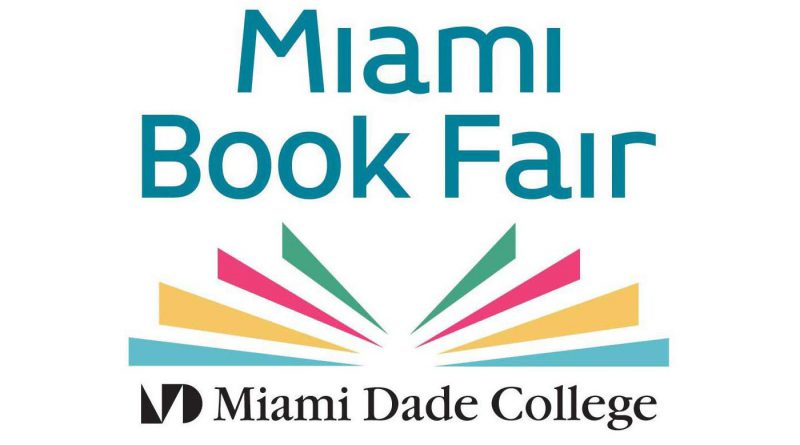 Miami Book Fair logo.