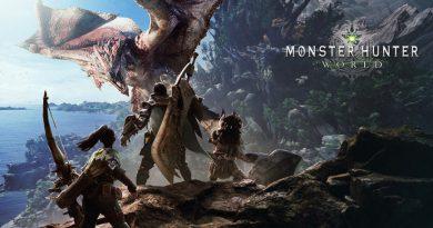 Promotional image for Monster Hunter World.