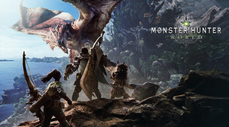 Promotional image for Monster Hunter World.