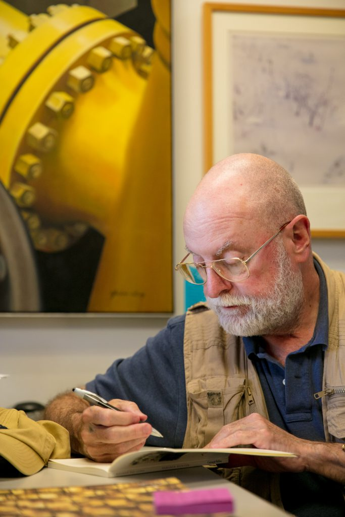Ricardo Pau-Llosa at his office.