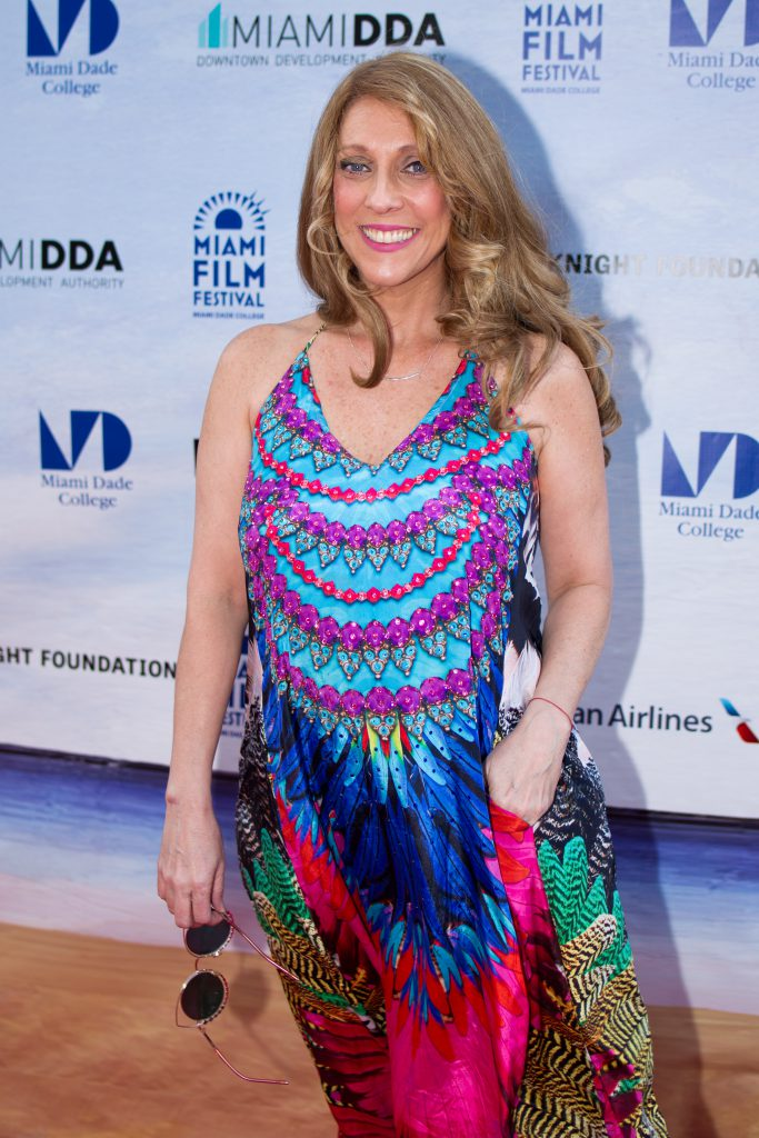 Actress Gaby Gnazzo on the red carpet.