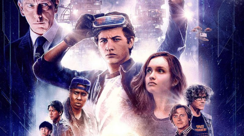 Promotional image for the movie Ready Player One.
