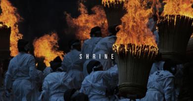 Album cover for Shrine.