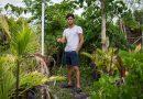 Christian Acevedo posing for the camera.
