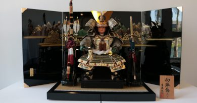 One of the pieces at the exhibition The Dolls Of Japan.