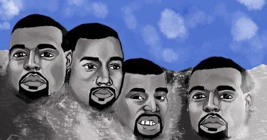 Kanye Wast illustration by Aminah Brown