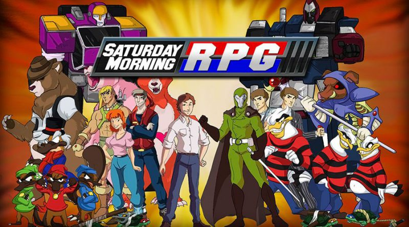 Promotional image for Saturday Morning RPG.