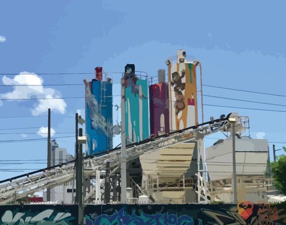 Gentrification graphics by Eduardo Badal.