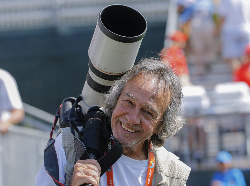 Famous photographer Alan Diaz.