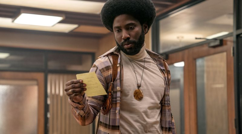 Scene from BlacKkKlansman.