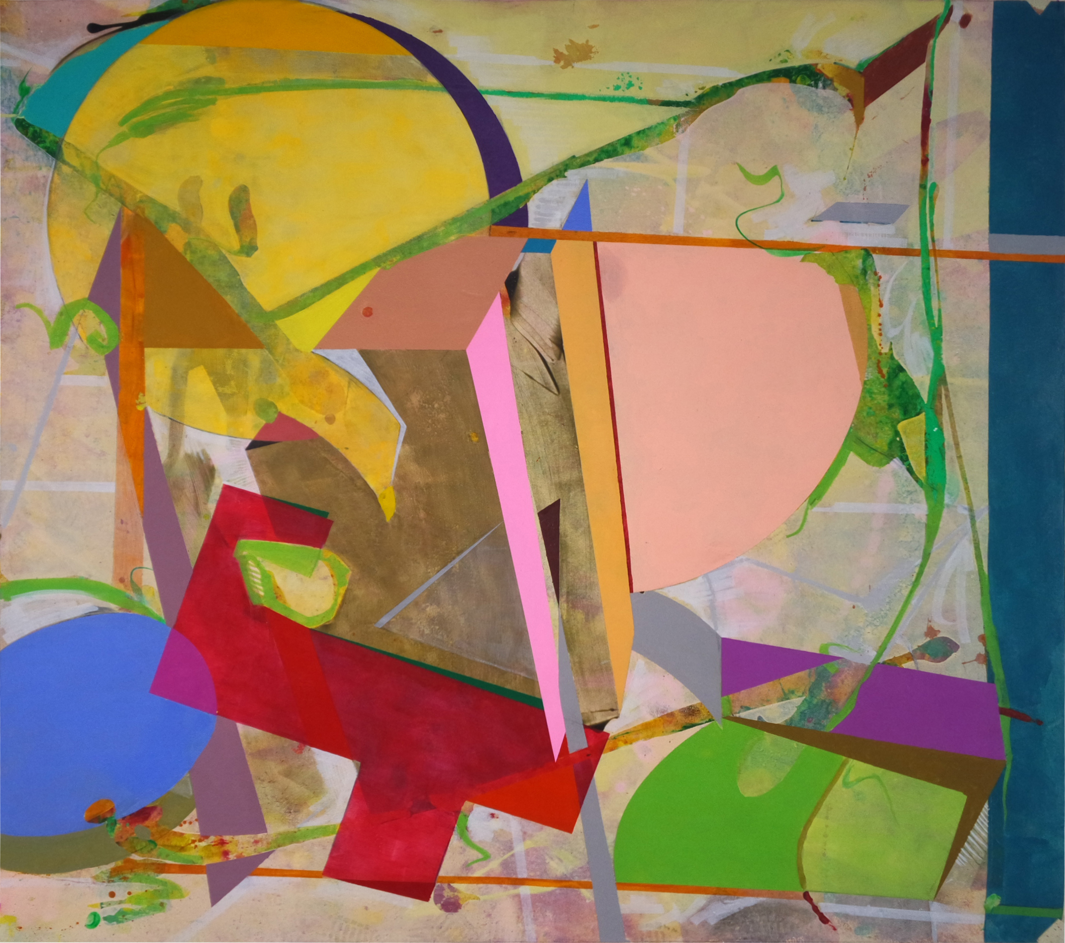 Homestead Campus Showcases Paintings By Gerardo Olhovich The