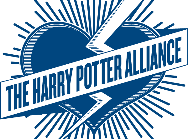 Logo for Hermione's Army, a chapter of the Harry Potter Alliance.
