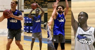 Collage of the four featured players.