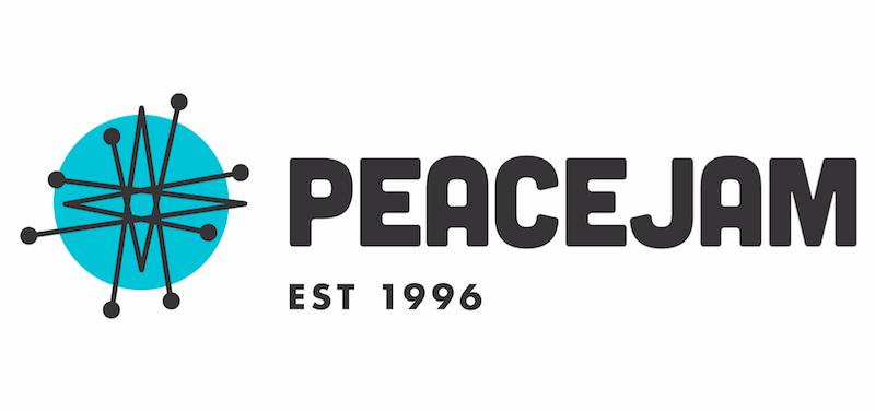 Peace Jam Logo.