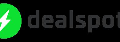 Dealspotr logo.