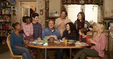 Promotional image for the show The Connors, one of many television revivals.